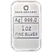 Silver Bar Rand Refinery - Year of the Snake - 1 oz thumbnail