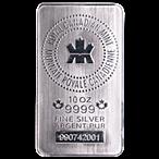 Royal Canadian Mint Silver Bar - 10 oz thumbnail