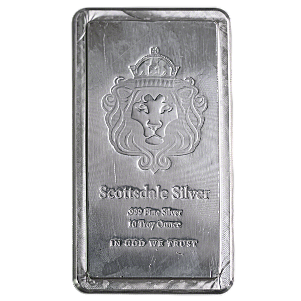 Scottsdale Stacker - Circulated in good condition - 10 oz
