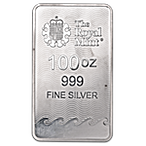 United Kingdom Silver Britannia Bar - 100 oz thumbnail