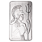 United Kingdom Silver Britannia Bar - 10 oz thumbnail