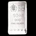 United Kingdom Silver Britannia Bar - 10 oz thumbnail