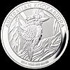 Australian Silver Kookaburra 2014 - 1 kg
