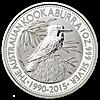 Australian Silver Kookaburra 2015 - 1 oz