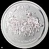 Australian Silver Lunar Series 2015 - Year of the Sheep - 1/2 oz