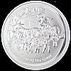 Australian Silver Lunar Series 2015 - 10 oz