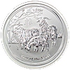 Australian Silver Lunar Series 2015 - 1 oz