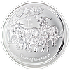 Australian Silver Lunar Series 2015 - Year of the Sheep - 5 oz