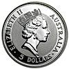 Australian Silver Kookaburra 1991 - 1 oz