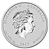 Australian Silver Lunar Series 2017 - Year of the Rooster - 1 kg