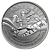 Canada Silver FIFA Women World Cup 2015 - 1/4 oz