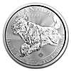 Canadian Silver Predator Series 2018 - Wolf - Circulated in good condition - 1 oz