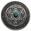 Fiji Silver Mandala Art Celtic 2016 - Antique Finish  - 3 oz