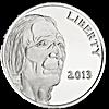 Buffalo - Indian Head Silver Rounds 2013 - 1 oz