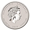 Australian Silver Lunar Series 2018 - Year of the Dog - 10 oz