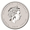 Australian Silver Lunar Series 2018 - Year of the Dog - 2 oz