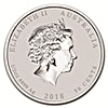 Australian Silver Lunar Series 2018 - Year of the Dog - 1/2 oz