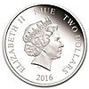 Niue 2016 Silver Kings of the Continent - European Grey Wolf - 1 oz