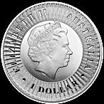 Australian Silver Kangaroo 2016 - 1 oz thumbnail