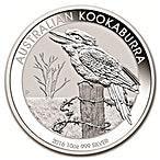 Australian Silver Kookaburra 2016 - 10 oz  thumbnail