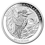 Australian Silver Kookaburra 2014 - Horse Privy - 1 oz  thumbnail