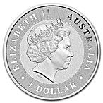 Australian Silver Kangaroo 2017 - 1 oz thumbnail