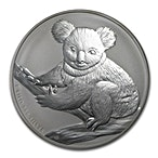 Australian Silver Koala 2009 - 1 kg thumbnail