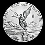 Mexican Silver Libertad 2019 - 2 oz  thumbnail