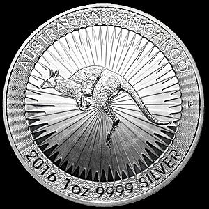Australian Silver Kangaroo 2016 - 1 oz