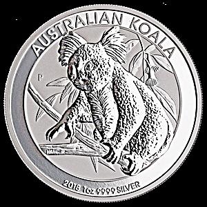 Australian Silver Koala 2018 - 1 oz