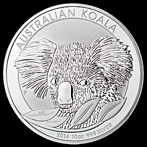 Australian Silver Koala 2014 - 10 oz