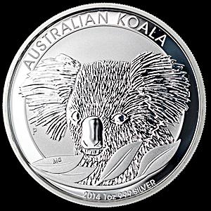 Australian Silver Koala 2014 - 1 oz