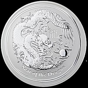 Australian Silver Lunar Series 2012 - 1 kg
