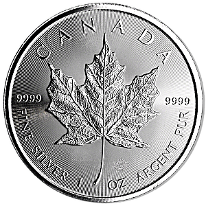 Canadian Silver Maple 2018 - 1 oz
