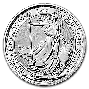 United Kingdom Silver Britannia 2019 - 1 oz