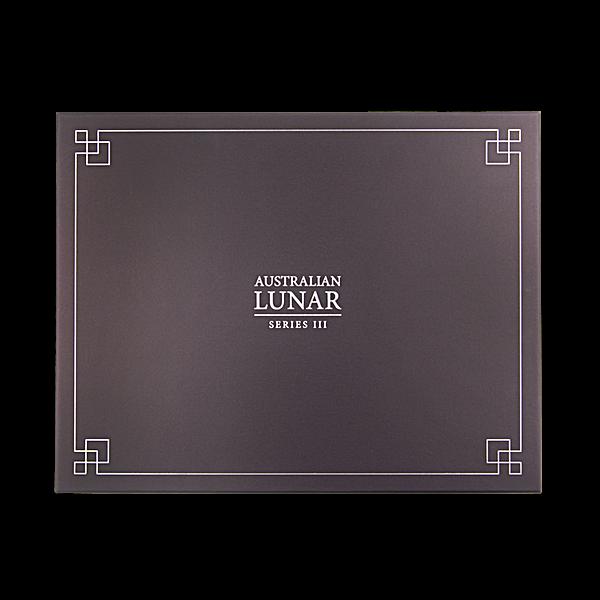 Perth Mint Lunar Series III Display Box for 1 oz Silver Coins