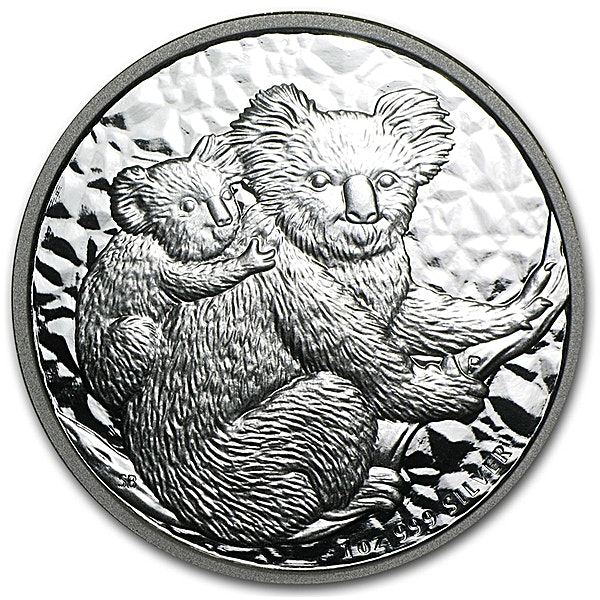 Australian Silver Koala 2008 - 1 oz