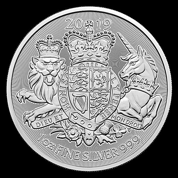 United Kingdom Silver Royal Arms 2019 - 1 oz