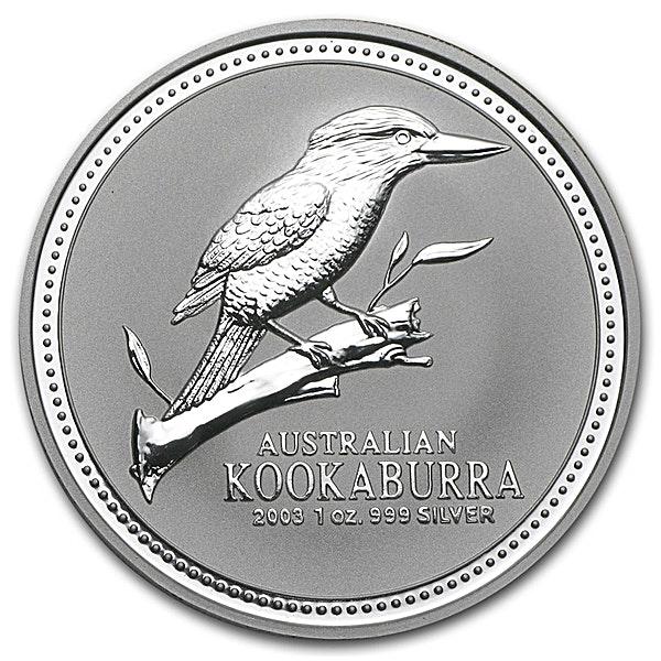 Australian Silver Kookaburra 2003 - 1 oz