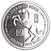 Year of the Horse Silver Round - 5 oz thumbnail