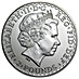 United Kingdom Silver Britannia  2010 - Circulated in Good Condition - 1 oz  thumbnail