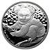Australian Silver Koala 2009 - 1 oz thumbnail