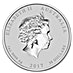 Australian Silver Lunar Series 2017 - Year of the Rooster - 1 kg thumbnail