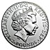 United Kingdom Silver Britannia 2005 - Circulated in Good Condition - 1 oz  thumbnail