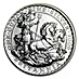 United Kingdom Silver Britannia  2009 - Circulated in Good Condition - 1 oz  thumbnail
