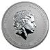 Australian Silver Lunar Series 2010 - Year of the Tiger - 1 kg thumbnail