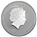 Australian Silver Lunar Series 2011 - Year of the Rabbit - 2 oz thumbnail