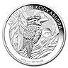 Australian Silver Kookaburra 2014 - Horse Privy - 1 oz