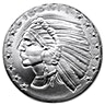 Incuse Indian Silver Rounds