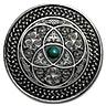 Fiji Silver Mandala Art Celtic 2016 - Antique Finish  - 3 oz